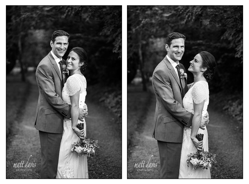 Bride wearing Jenny Packham wedding dress