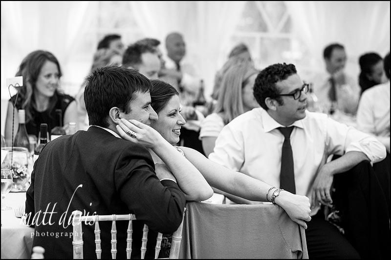 Documentary wedding photos at Marquee wedding