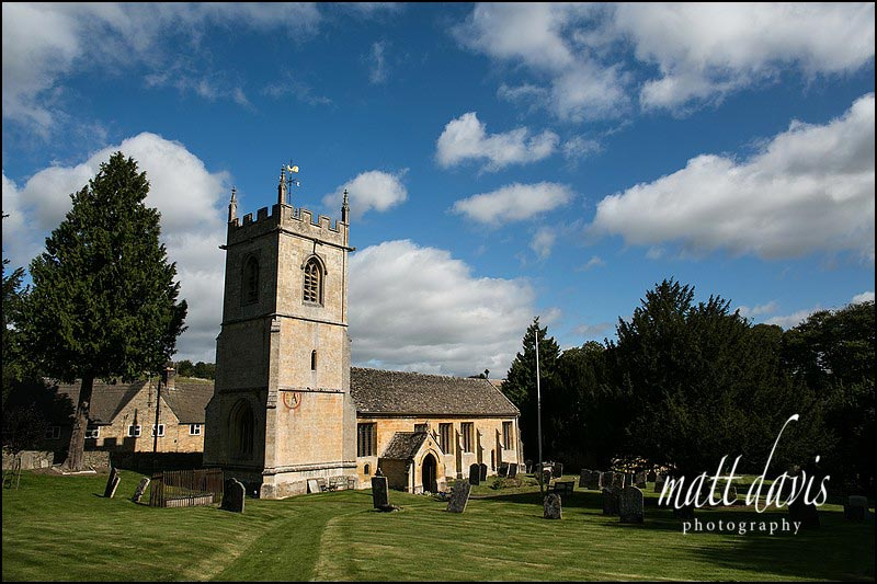 St Andrew's Church Naunton, Gloucestershire