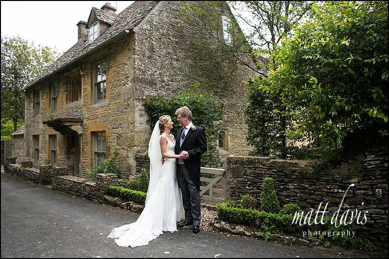 Dominic and Jannene wedding photo in Naunton
