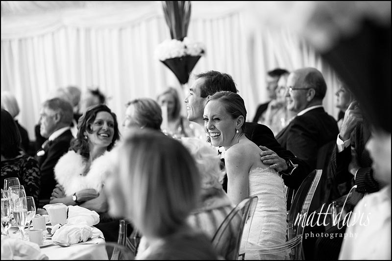 Stunning black and white wedding photographer gloucestershire