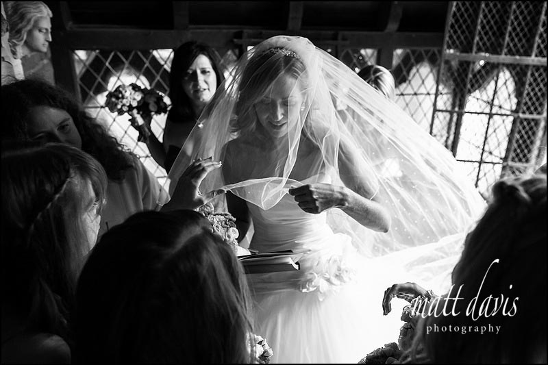 black and white wedding photography clearwell castle
