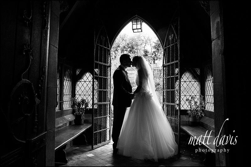 Beautiful contemporary wedding photos at St Peter's church near Clearwell Castle, Gloucestershire