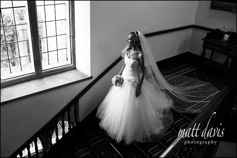 Clearwell Castle wedding photographer Matt Davis took this photo