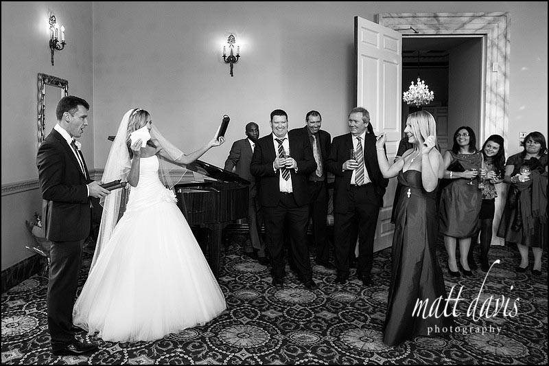 speeches at Clearwell Castle by Matt Davis Photography