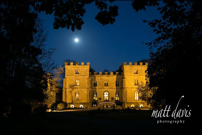 Clearwell Castle wedding venue photos