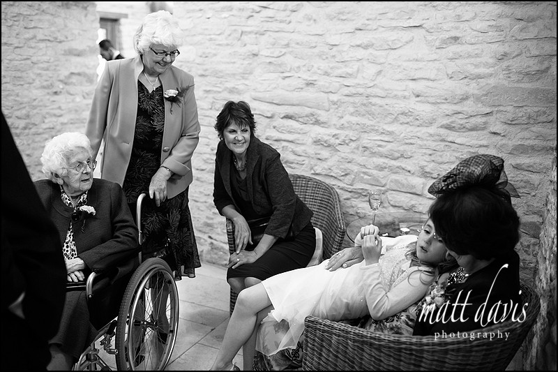 documentary Kingscote Barn wedding photos by Matt Davis