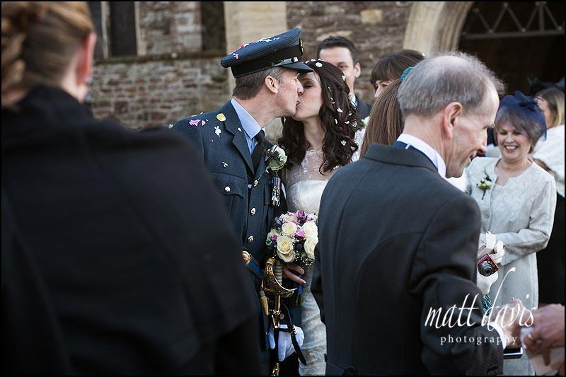 Non posed wedding photos by Gloucestershire photographer Matt Davis
