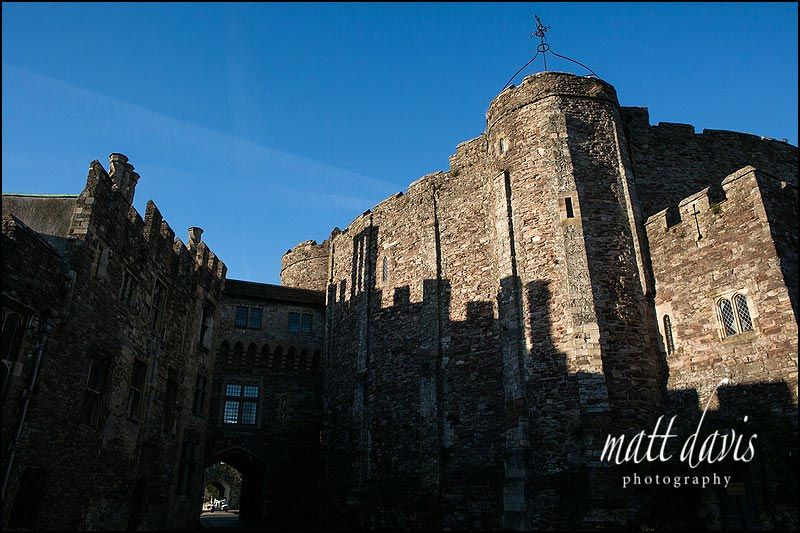 Berkeley Castle winter wedding venue