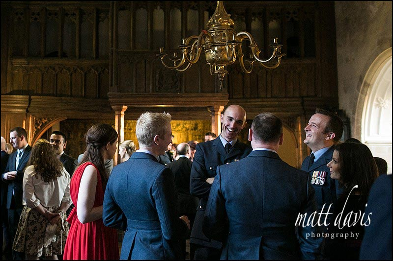 Reportage wedding photography at Berkeley Castle