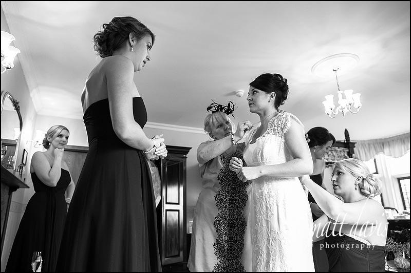 Documentary wedding photos at Stanton House by Matt Davis