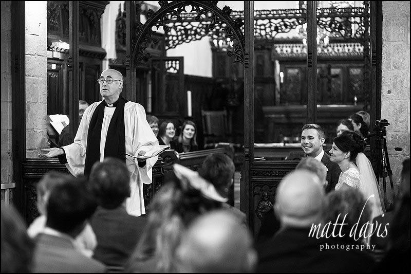 Amusing vicar at St. Leonard's Church, Stanton Fitzwarren