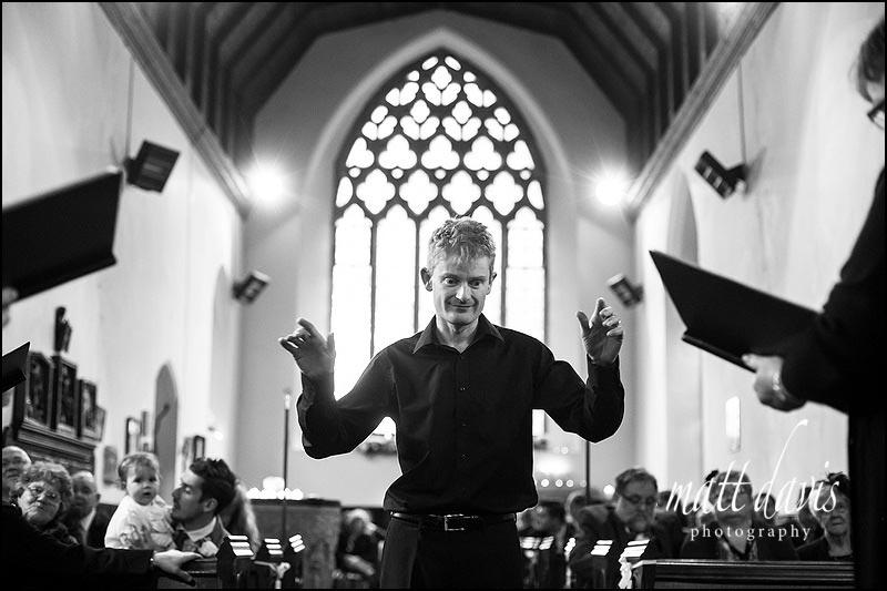 Choir conductor at St. Leonard's Church, Stanton Fitzwarren