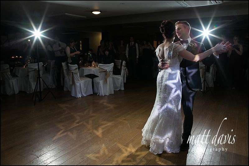 First dance wedding photography at Stanton House Hotel wedding