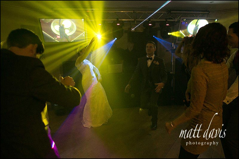 Crazy first dance at Stanton House Wedding