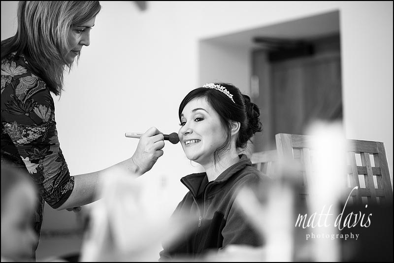 Bridal make-up by Clare of Pure Pampering