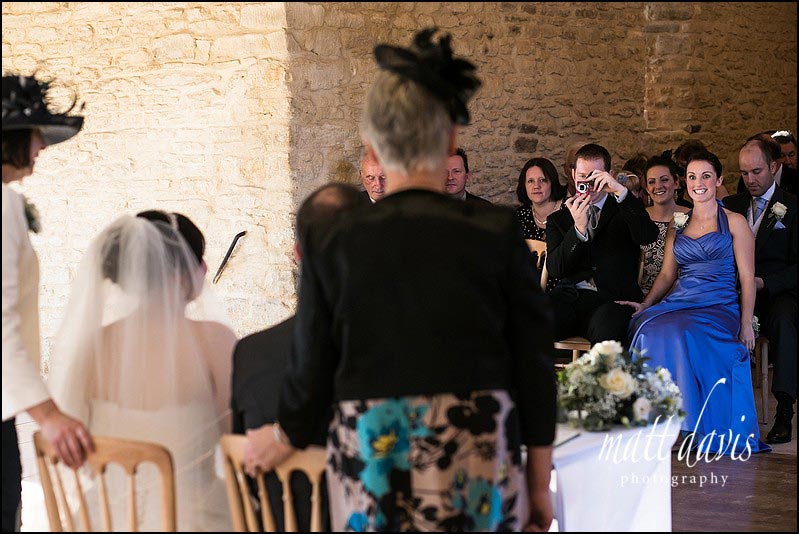 Winter weddings at Kingscote Barn photographed by Matt Davis
