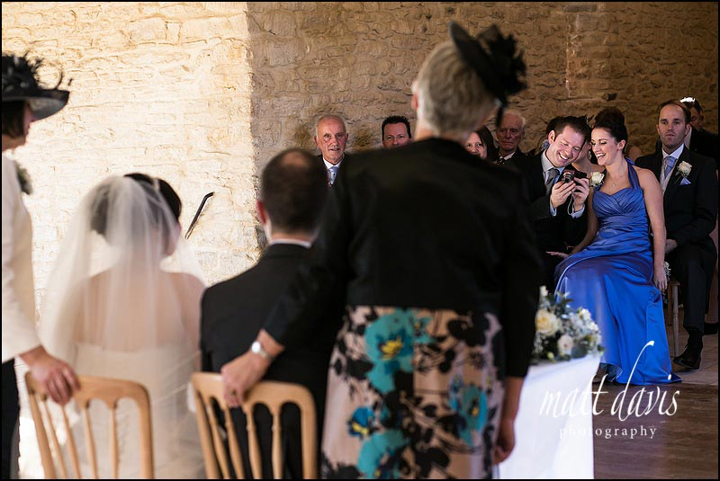 Gloucestershire wedding photography at Kingscote Barn by Matt Davis