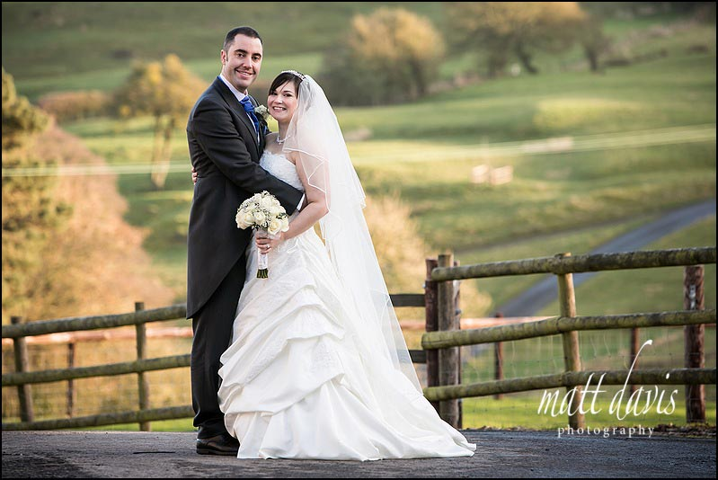 Relaxed wedding photos at Kingscote Barn by Matt Davis Photography