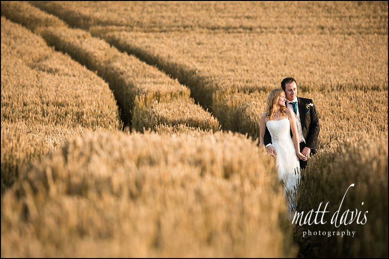 Kingscote Barn Gloucestershire, wedding photographer Matt Davis is recommended here.