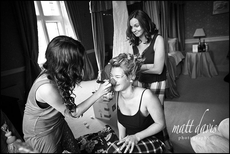 Winter wedding photographer at Clearwell Castle, Gloucestershire