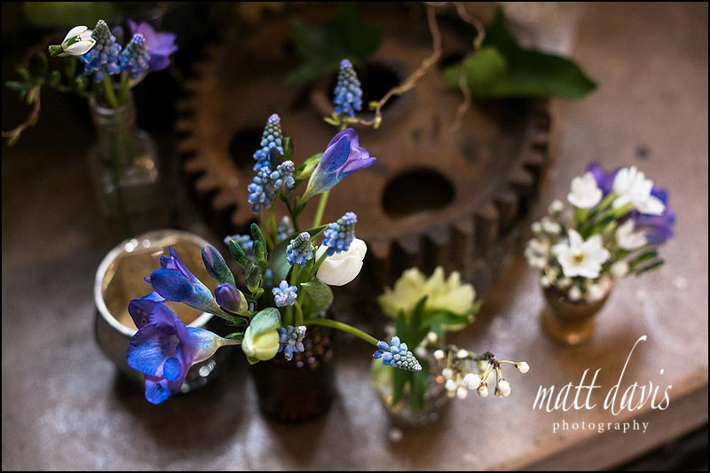 Wedding flowers at Berkeley Castle by Sorori Design