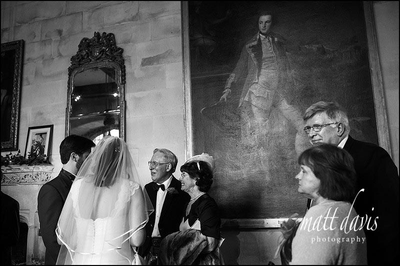 Documentary wedding photos at Berkeley Castle