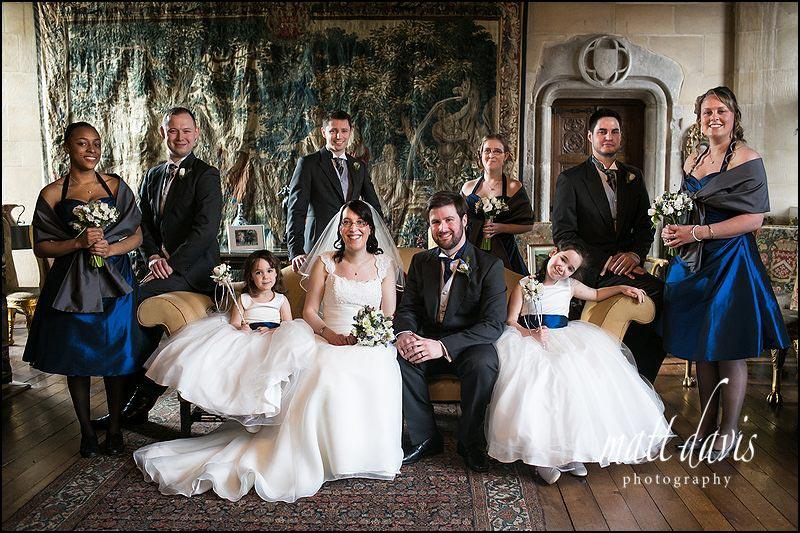 wedding at Berkeley Castle