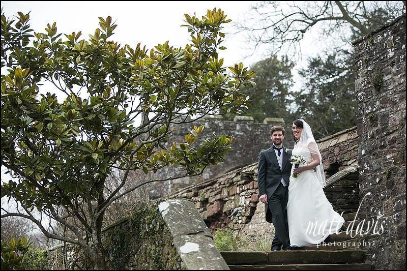 wedding photos at Berkeley Castle