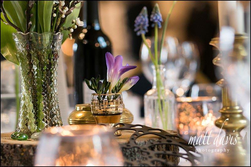 wedding flowers at Berkeley Castle