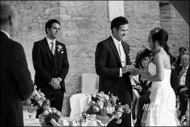 A beautiful Wedding at Kingscote Barn