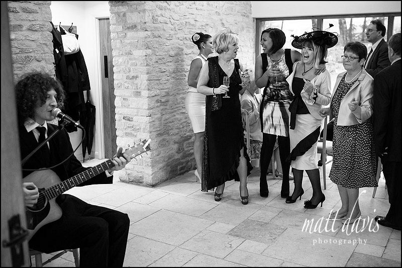 Winter weddings at Kingscote Barn