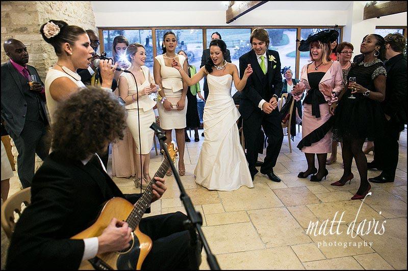 Wedding photography Kingscote Barn