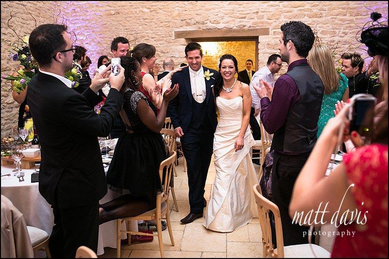 Wedding photos at Kingscote Barn