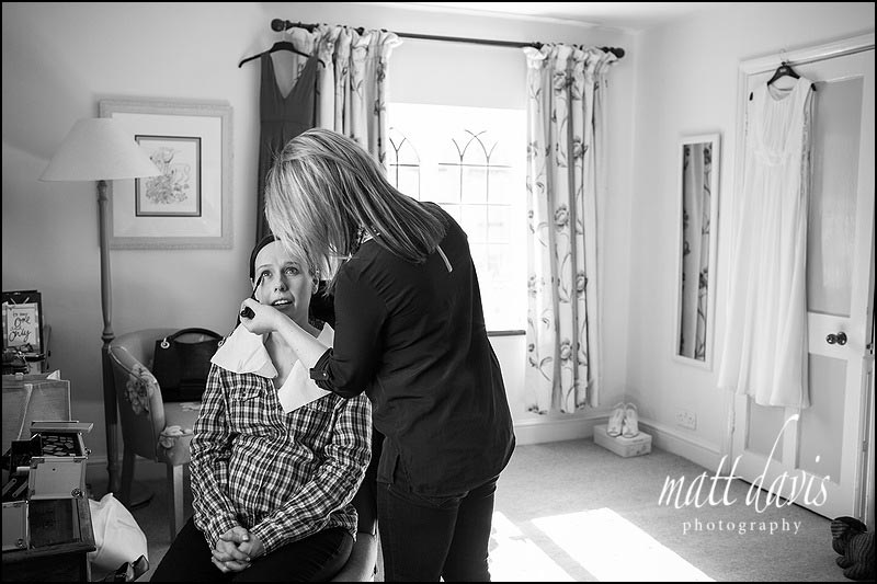 Natural wedding photos at Manor House Hotel