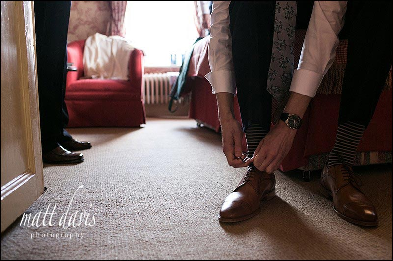 Real wedding day photos by Gloucestershire photographer Matt Davis