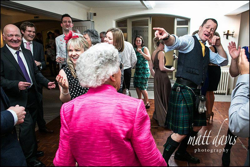 dance floor Photography at Manor House Hotel wedding
