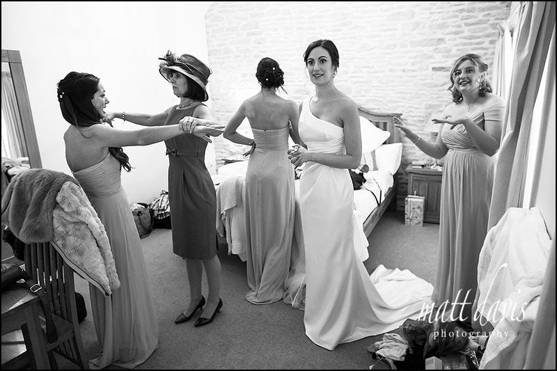 Unusual weddings at Kingscote Barn