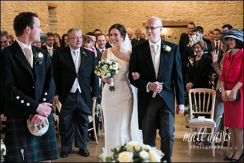 Beautiful Weddings at Kingscote Barn