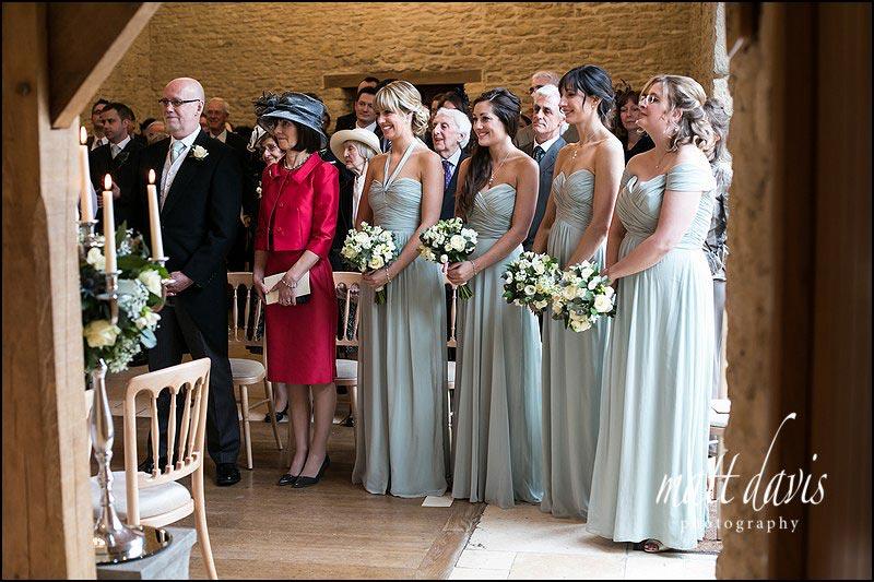 Unique bridesmaid dresses in green