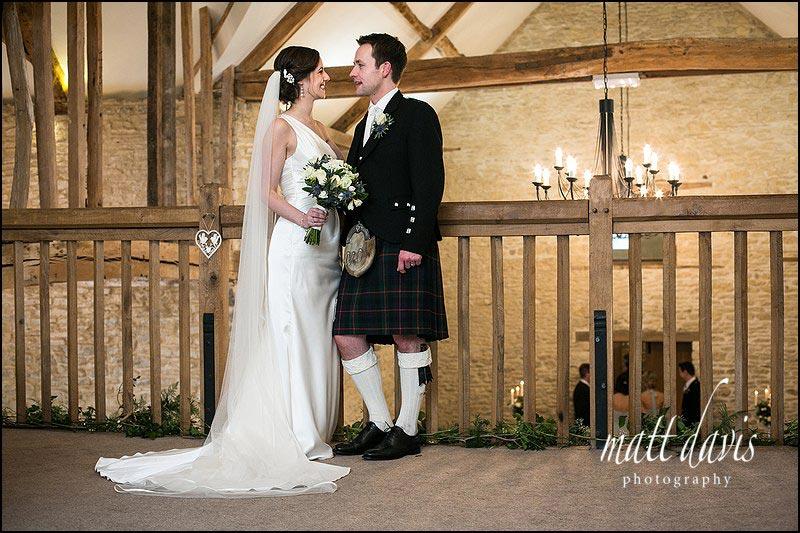 Wet weddings at Kingscote Barn