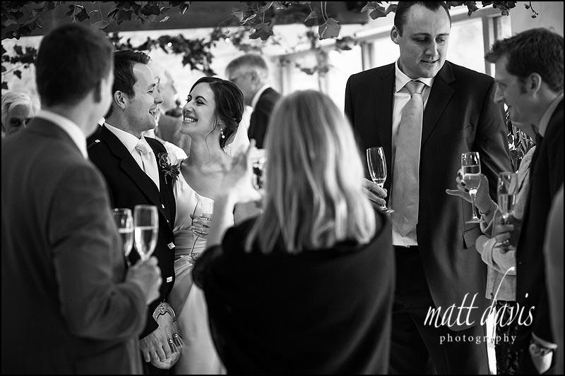 natural bride and groom photos from weddings at Kingscote Barn