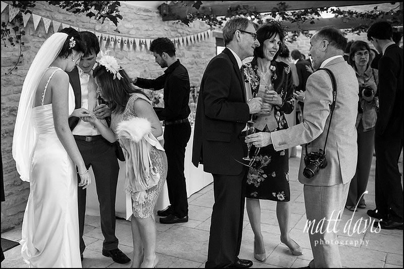 Natural wedding photos by Gloucestershire wedding photographer Matt Davis