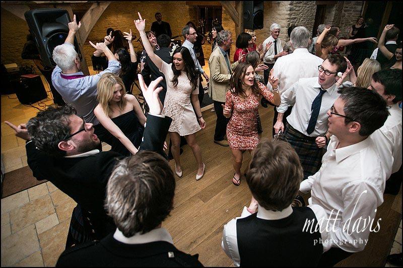 Kingscote Barn dance floor
