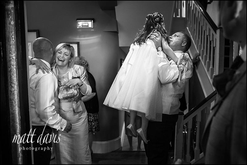Documentary wedding photography at Ellenborough Park