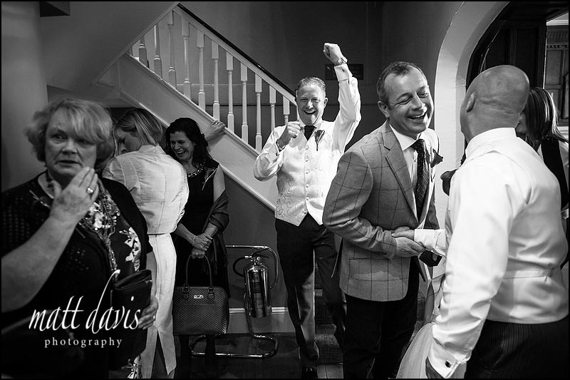 Documentary wedding photography at Ellenborough Park by Matt Davis