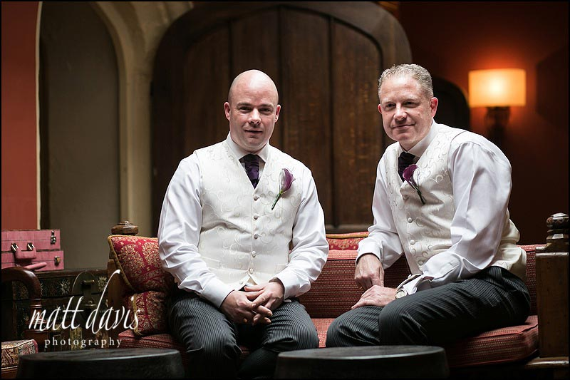 Civil Partnership at Ellenborough Park
