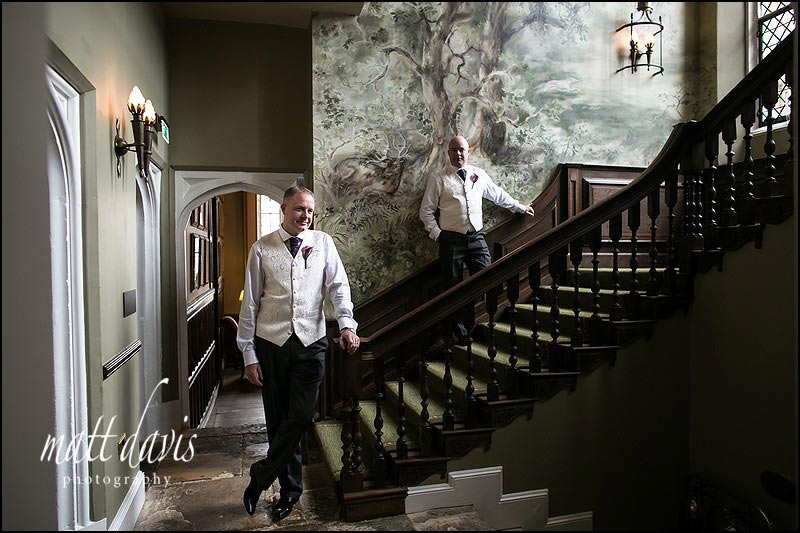 Civil Partnership photography at Ellenborough Park