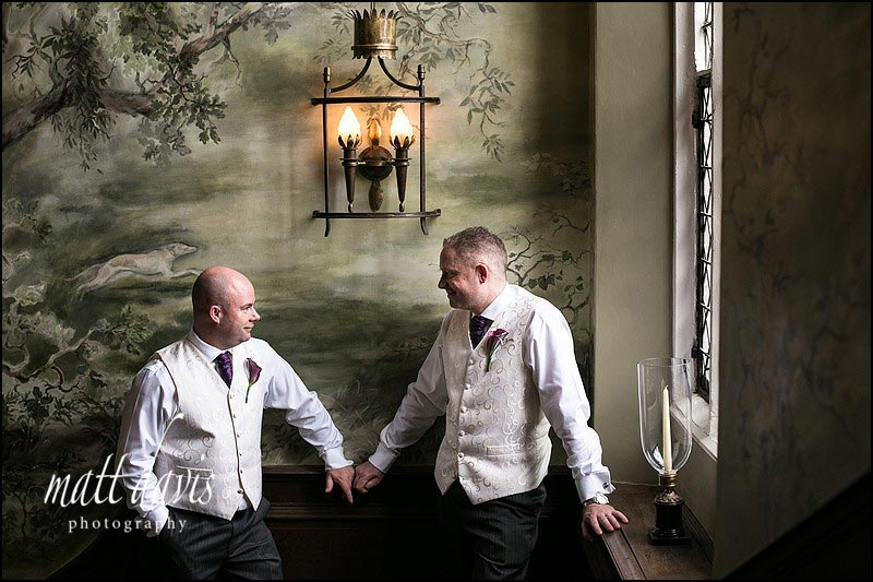 Civil Partnership photos at Ellenborough Park