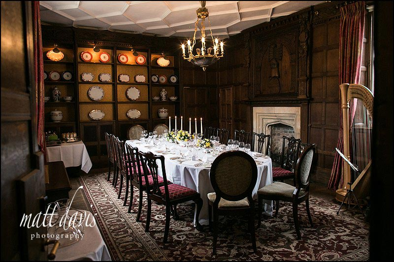 Fine dining at Ellenborough Park